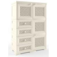 Шкаф пластиковый комбинированный УЮТ Э-129