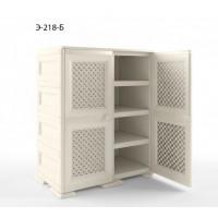 Шкаф пластиковый комбинированный УЮТ Э-218